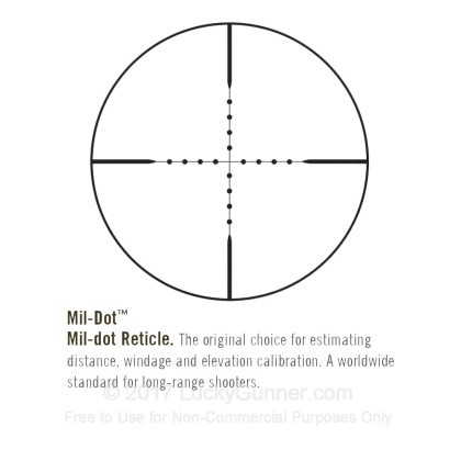 Large image of Premium Rifle Scope For Sale - 2.5-16x - 42mm 652164MD - Mil-Dot  Reticle - Black Matte Bushnell Elite 6500 Rifle Scope in Stock