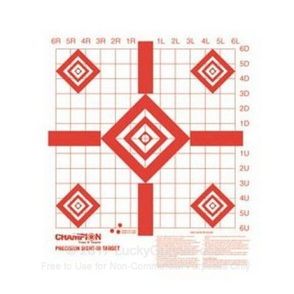"Large image of Champion Targets For Sale - Redfield  16"" Sight-In Targets - 100 Pack"