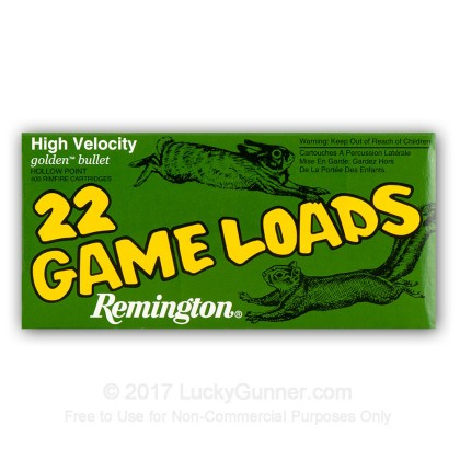 Image 8 of Remington .22 Long Rifle (LR) Ammo