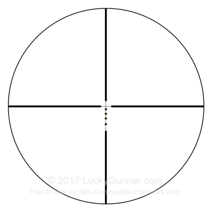 Large image of Rifle Scope For Sale - 1-4x - 24mm AR91424 - Drop Zone-223 BDC - Black Matte Bushnell Optics Rifle Scopes in Stock