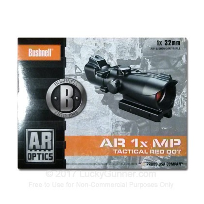 Large image of Rifle Scope For Sale - 1x - 32mm AR730132 - Red T-dot - Black Matte Bushnell Optics Rifle Scopes in Stock