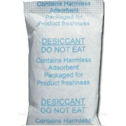 Large image of Silica Gel Packet for Sale - 5 gram - Gunslick Pro Cleaning Patches For Sale