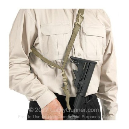 Large image of Blackhawk Storm XT Single Point Sling For Sale - Blackhawk Universal Single Point Sling for AR-15's and M4 Styled Rifles and Tactical Shotguns