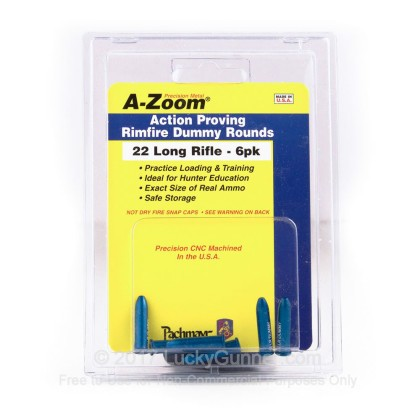 Large image of A-Zoom Snap Caps - Dummy Rounds - 22LR