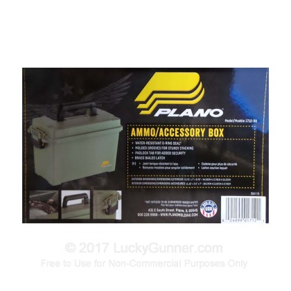 Large image of Plano 50 Cal Green Pastic Ammo Cans For Sale