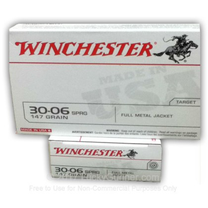 Image 1 of Winchester .30-06 Ammo