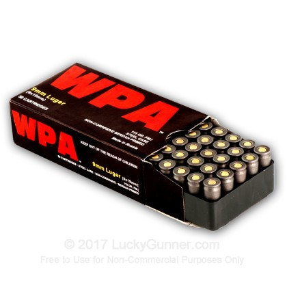 Image 8 of Wolf 9mm Luger (9x19) Ammo