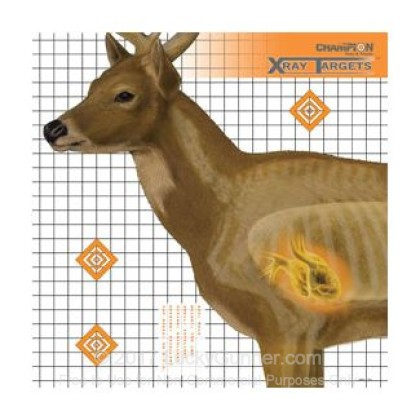 Large image of Champion X-Ray Deer Targets For Sale - Anatomy Targets In Stock