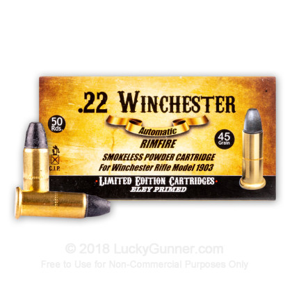 Image 2 of Aguila .22 Winchester Automatic Ammo