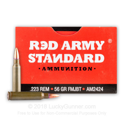 Image 1 of Red Army Standard .223 Remington Ammo