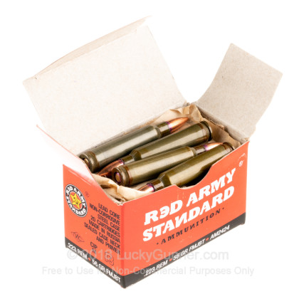 Image 3 of Red Army Standard .223 Remington Ammo