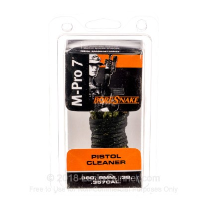 Large image of M-Pro 7's BoreSnakes for Sale - .380, .38 Spl, 9mm, .357 Mag Calibers - M-Pro 7's BoreSnake For Sale