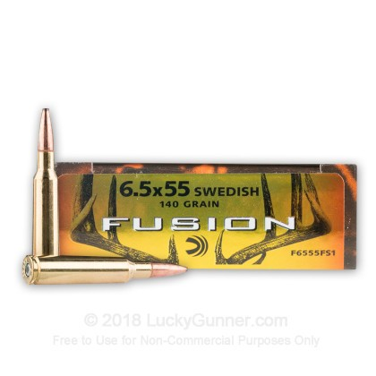 Image 1 of Federal 6.5x55 Swedish Ammo