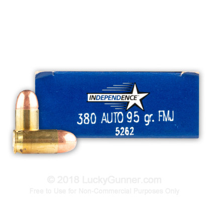 Image 1 of Independence .380 Auto (ACP) Ammo
