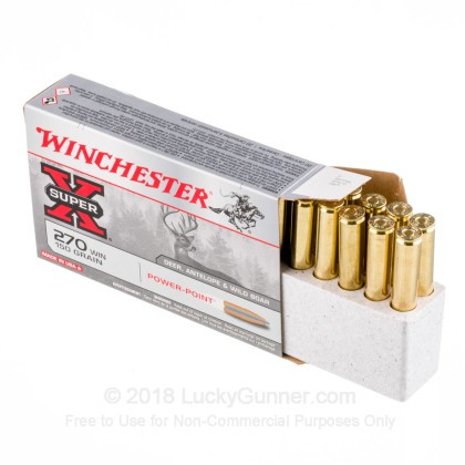 Image 3 of Winchester .270 Winchester Ammo