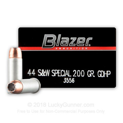 Image 1 of Blazer .44 Special Ammo