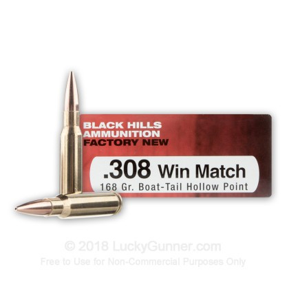 Image 1 of Black Hills Ammunition .308 (7.62X51) Ammo