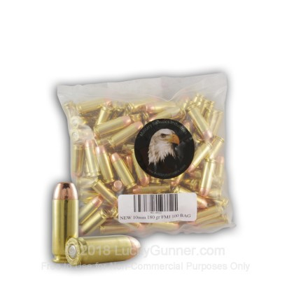 Image 2 of Military Ballistics Industries 10mm Auto Ammo