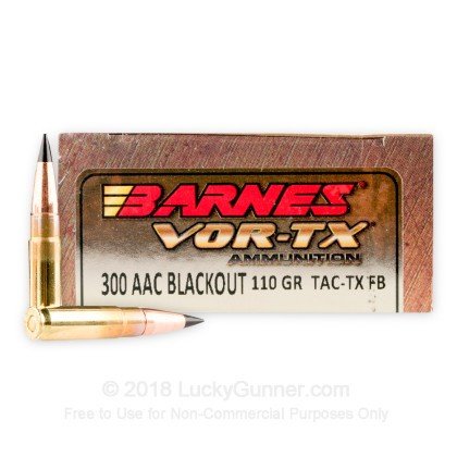 Image 1 of Barnes .300 Blackout Ammo