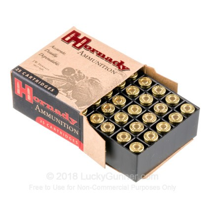 Large image of 32 ACP Ammo For Sale - 60 Grain JHP Hornady XTP Ammo Online - 25 Rounds