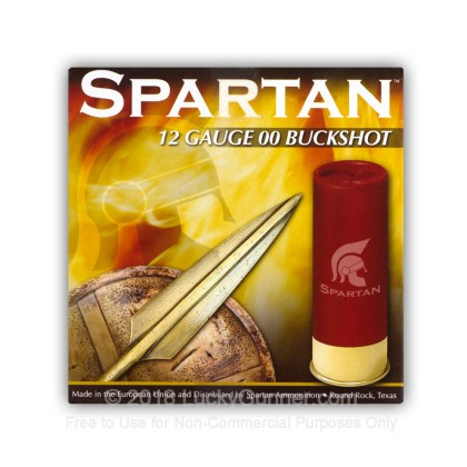 Image 2 of Spartan 12 Gauge Ammo