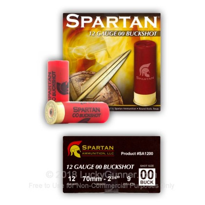 Image 4 of Spartan 12 Gauge Ammo