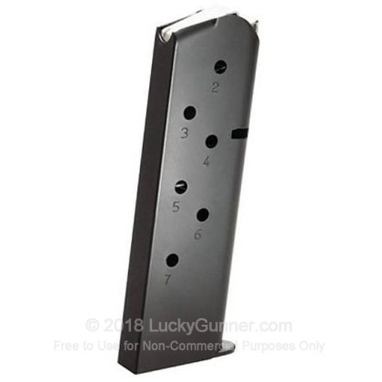 Large image of Remington 1911 45 ACP Magazine Matte Finish For Sale - 7 Rounds