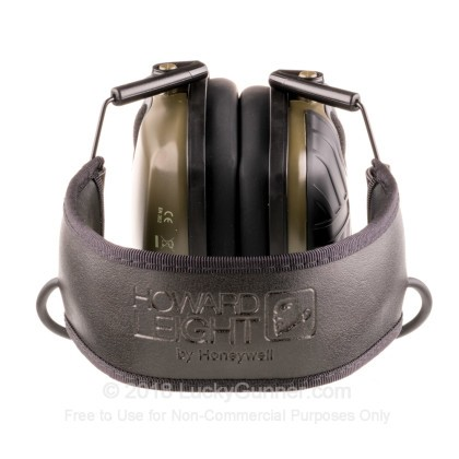 Large image of Howard Leight Green Impact Sport Electronic Earmuffs For Sale - 22 NRR - Howard Leight Hearing Protection in Stock