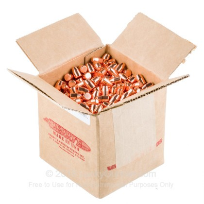 Large image of Berry's 40 Cal Plated Bullets For Sale - 40 S&W 180gr FPDS