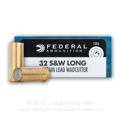 Image 3 of Federal .32 (Smith & Wesson) Long Ammo