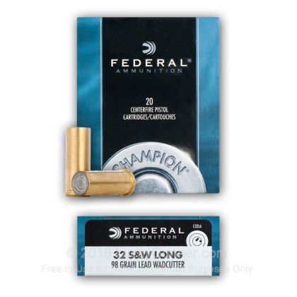 Image 5 of Federal .32 (Smith & Wesson) Long Ammo