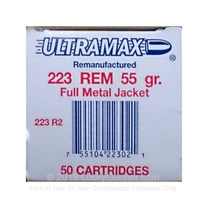 Image 1 of Ultramax .223 Remington Ammo