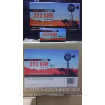 Image 4 of Australian Defense Industries .223 Remington Ammo