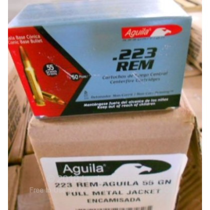 Image 4 of Aguila .223 Remington Ammo