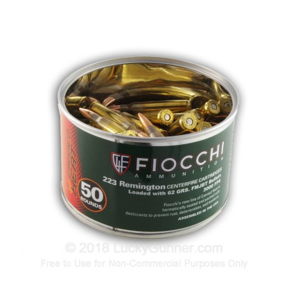 Image 2 of Fiocchi .223 Remington Ammo