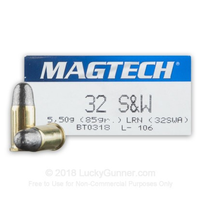 Image 1 of Magtech .32 Smith & Wesson Ammo