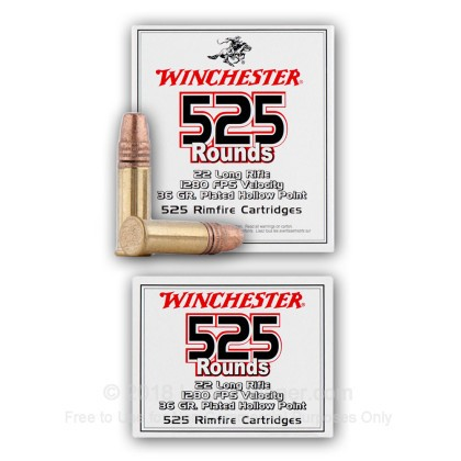 Image 6 of Winchester .22 Long Rifle (LR) Ammo