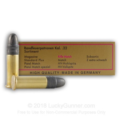 Image 3 of SK .22 Long Rifle (LR) Ammo