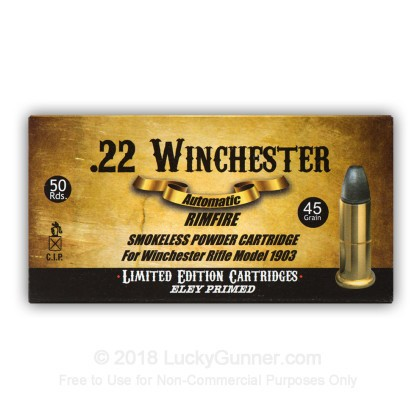 Image 9 of Aguila .22 Winchester Automatic Ammo