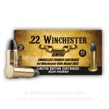 Image 1 of Aguila .22 Winchester Automatic Ammo