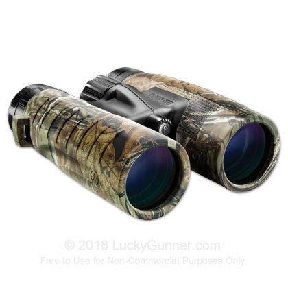 Large image of Bushnell Trophy XLT Binoculars for Sale - 10x - 42mm - 234211 - Realtree AP Rubber - In Stock - Luckygunner.com
