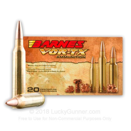 Image 2 of Barnes 7mm Remington Magnum Ammo