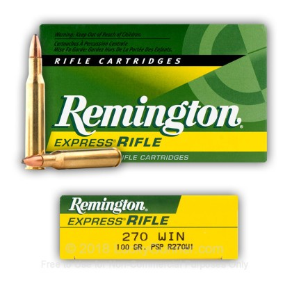Image 6 of Remington .270 Winchester Ammo