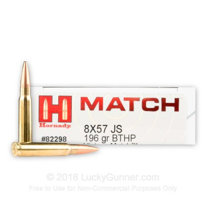 Image 1 of Hornady 8mm Mauser Ammo