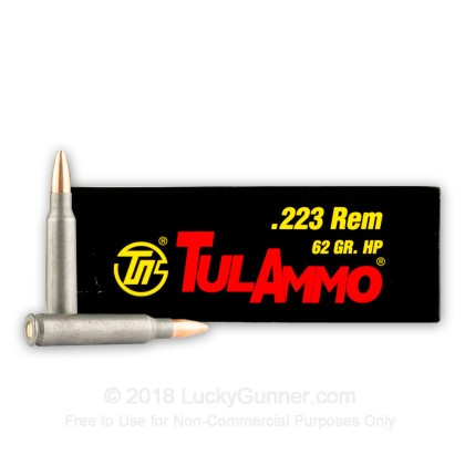 Image 2 of Tula Cartridge Works .223 Remington Ammo