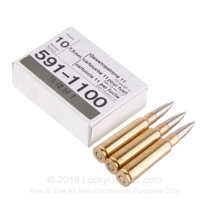 Image 2 of RUAG Munitions 7.5x55 Swiss Ammo
