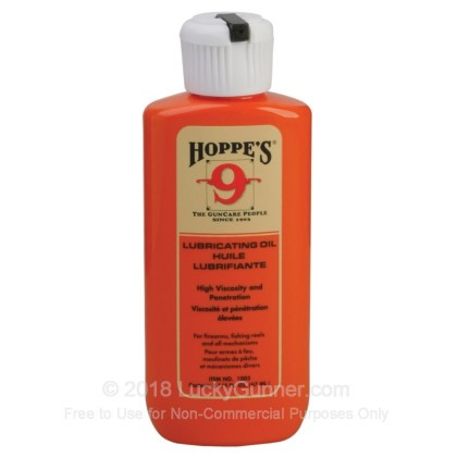 Large image of Hoppe's No. 9 Lubricating Oil - 2.25oz Bottle