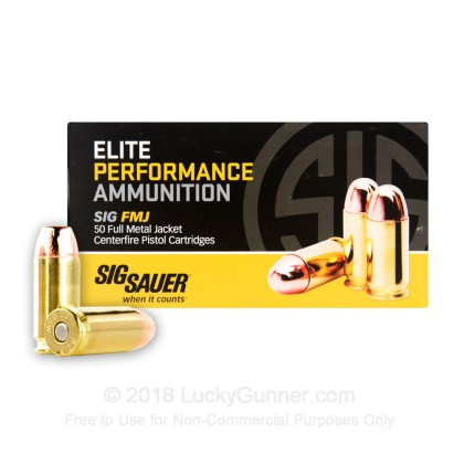 Image 2 of SIG SAUER .40 S&W (Smith & Wesson) Ammo