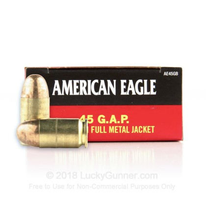 Image 1 of Federal .45 GAP Ammo