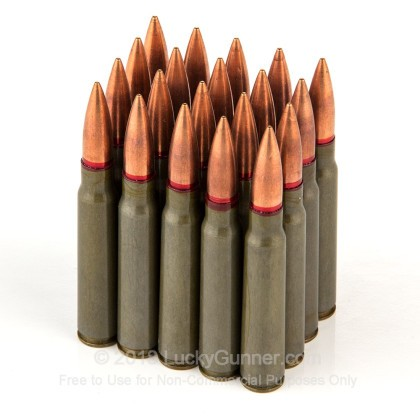 Image 4 of Romanian Military Surplus 8mm Mauser (8x57mm JS) Ammo